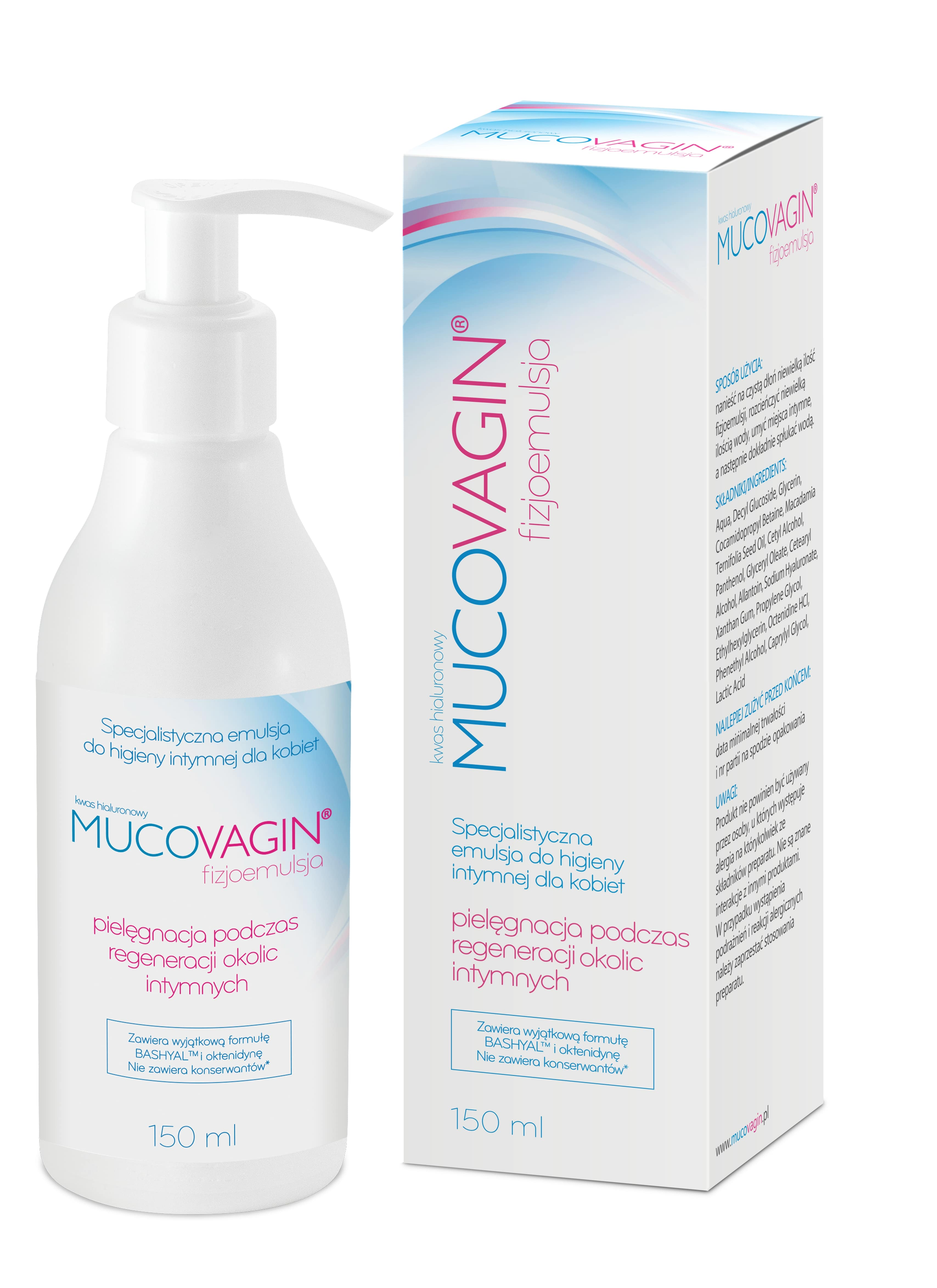 Mucovagin physiological emulsion